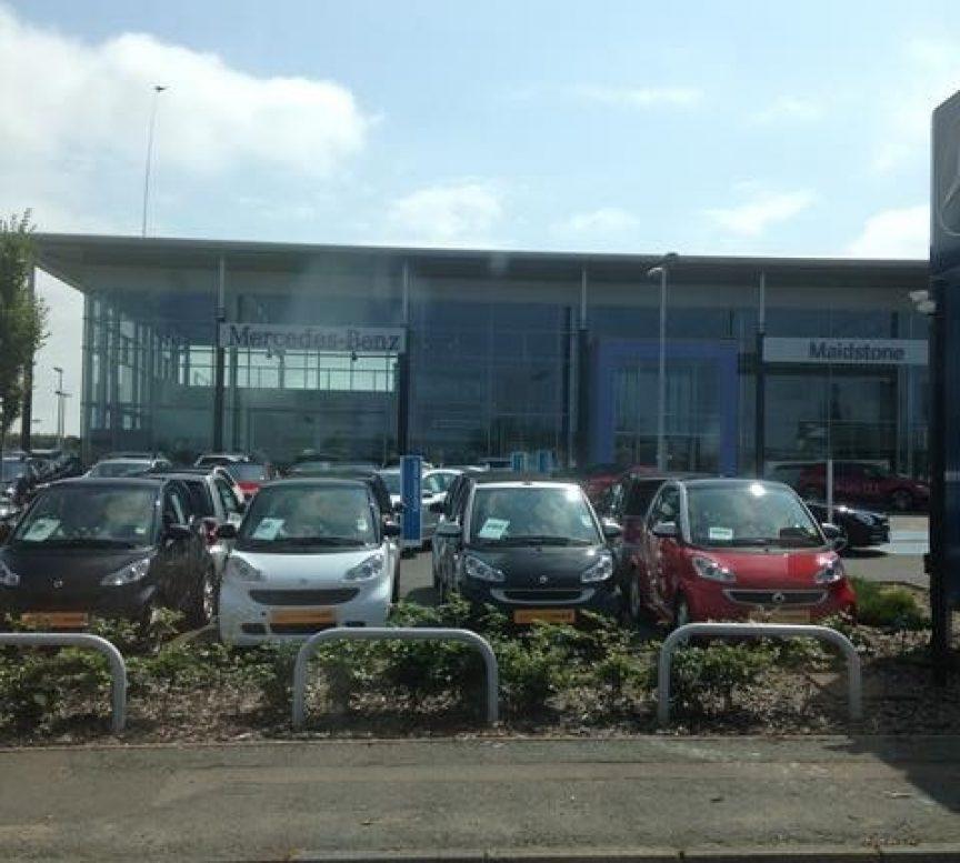 Mercedes Benz - Blocksil gutter lining project
